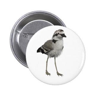 Snowy Plover 6 Cm Round Badge