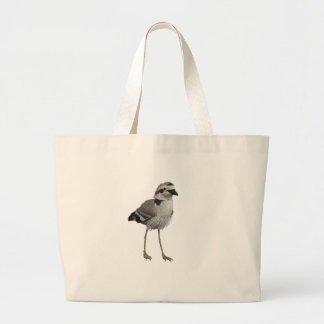 Snowy Plover Canvas Bags