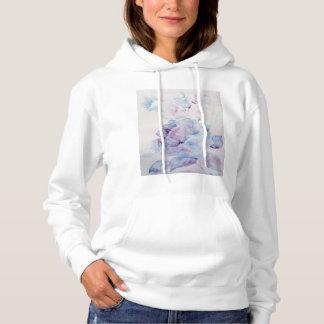 Snowy rose hoodie