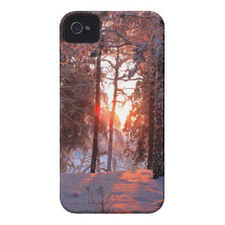 Snowy scenery iPhone 4 cover