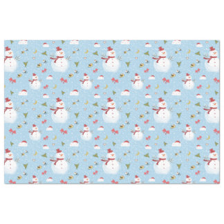 Snowy Snowmen Christmas Delights Tissue Paper