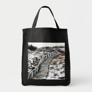 Snowy Staircase Bag