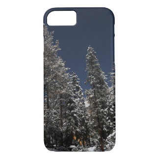 Snowy Star Trails - iPhone 7 case