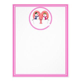 Snowy Sweethearts 21.5 Cm X 28 Cm Flyer