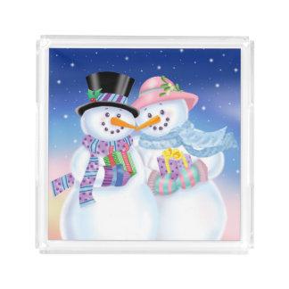 Snowy Sweethearts Small Tray