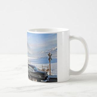 Snowy Train Mug