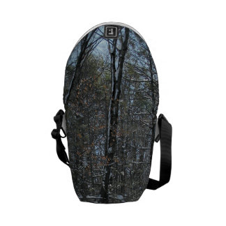 Snowy Trees Commuter Bags