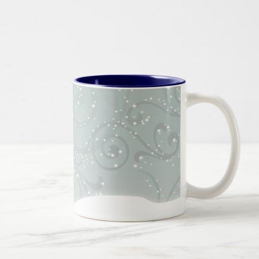 Snowy Trees Coffee Mugs