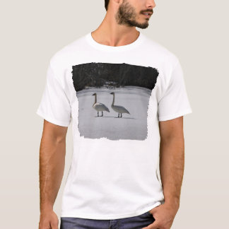 Snowy Trumpeter Swans T-Shirt