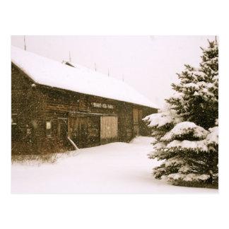 Snowy Vermont Postcard