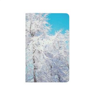 Snowy Winter Forest Seasonal Photo Journal