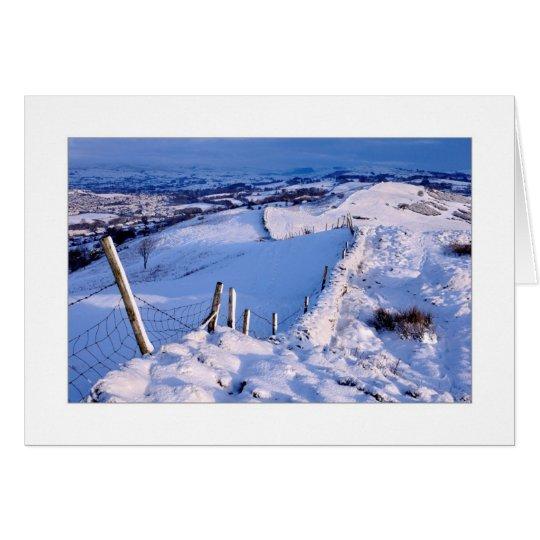 Snowy Winter Landscape Card