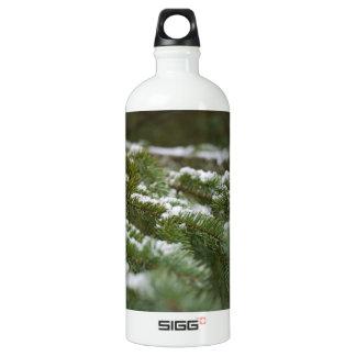 Snowy Winter Pine Tree SIGG Traveller 1.0L Water Bottle