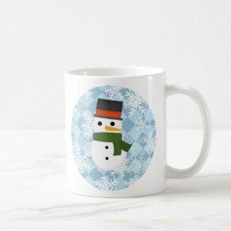 Snowy winter scene coffee mug