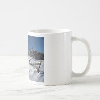 Snowy Winter Scene Mugs