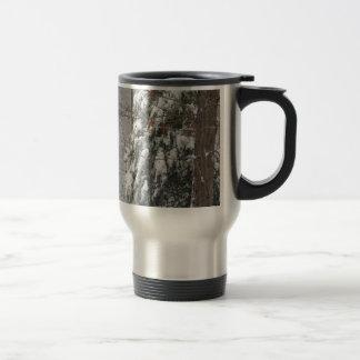 Snowy Winter Tree Scene Coffee Mug