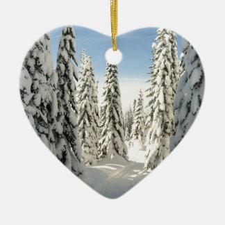 Snowy Wonderland Christmas Ornament