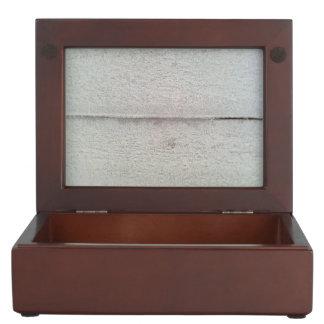 snowy Wood Keepsake Box