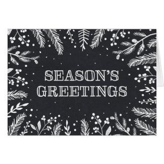 SNOWY WREATH | HOLIDAY GREETING CARD