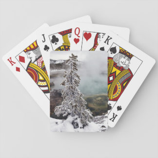 Snowy Yellowstone Playing Cards