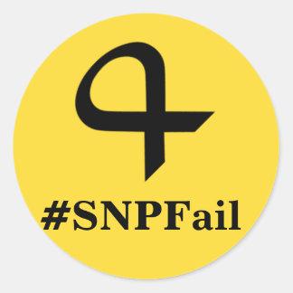 SNPFail Stickers