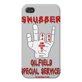 Snubber,Oil Field Special Services,Oil,Gas,Rigs iPhone 4 Cases