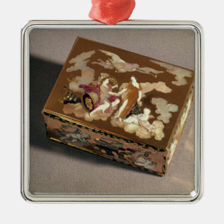 Snuff box christmas ornament