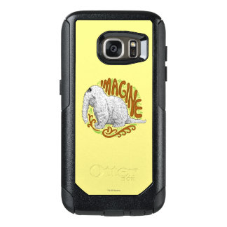 Snuffleupagus B&W Sketch Drawing OtterBox Samsung Galaxy S7 Case