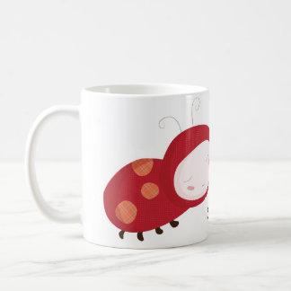 """Snug as a bug"" ladybird Coffee Mug"