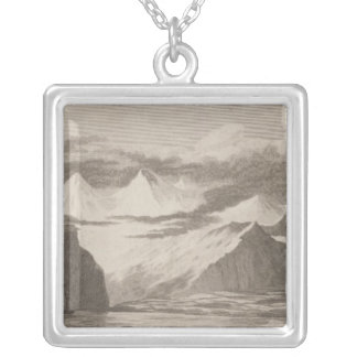Snug Corner Cove, Alaska Silver Plated Necklace