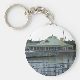 Snug Harbour Basic Round Button Key Ring