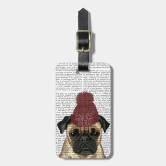 Snug Pug Luggage Tag