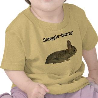Snuggle-bunny apparel t shirt