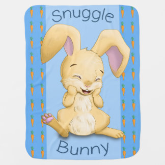 Snuggle Bunny Baby Blanket (Blue)