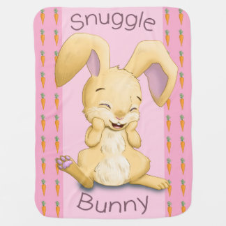 Snuggle Bunny Baby Blanket (Pink)