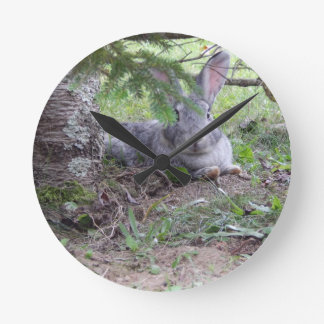 Snuggle Bunny Clock