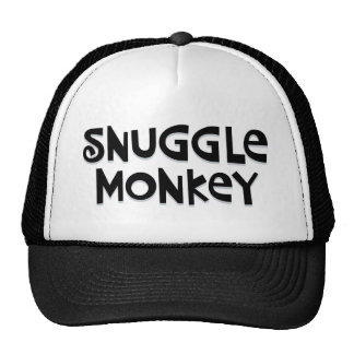 Snuggle Monkey Cap