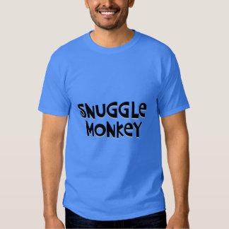 Snuggle Monkey Tee Shirts