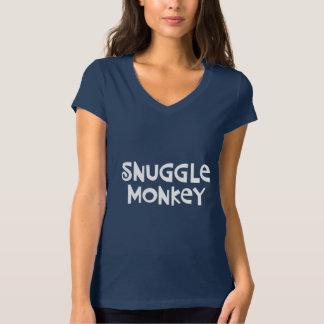 Snuggle Monkey Tshirt