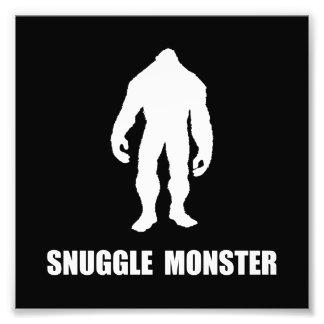 Snuggle Monster Bigfoot Photo