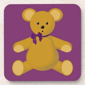 Snuggle the Teddy Bear Coaster