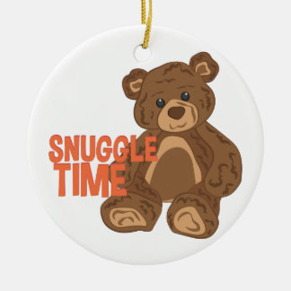 Snuggle Time Christmas Ornament