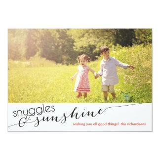 Snuggles & Sunshine Card
