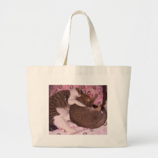 Snuggling Cats CricketDiane Art Photography Canvas Bags