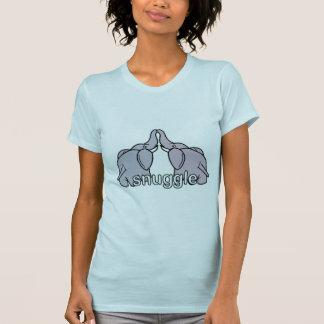 Snuggling Elephants Tshirt