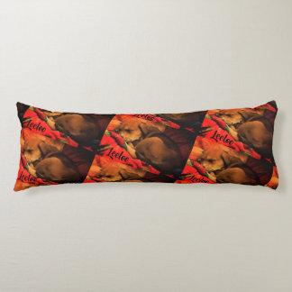 Snuggling Leeloo Body Pillow