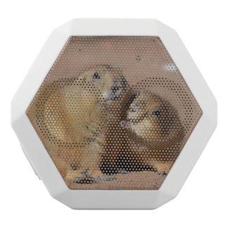 Snuggling Prairie Dogs White Boombot Rex Bluetooth Speaker