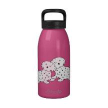 Snuggly Dalmatian Dreams Water Bottles