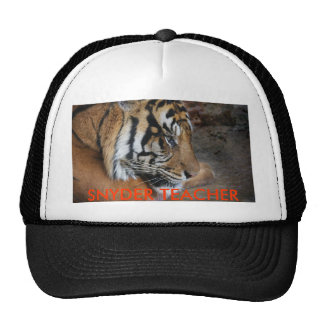 SNYDER TEACHER TRUCKING CAP TRUCKER HAT