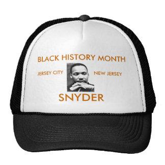 SNYDER'S BLACK HISTORY MONTH TRUCKING CAP TRUCKER HATS